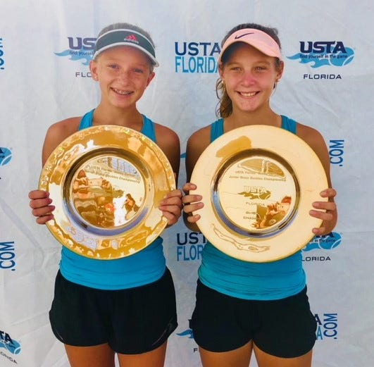 Pensacola's Goyins wins USTA state junior doubles title