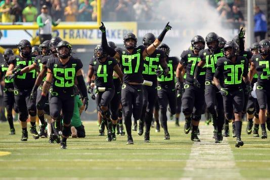 Ncaa Football San Jose State At Oregon
