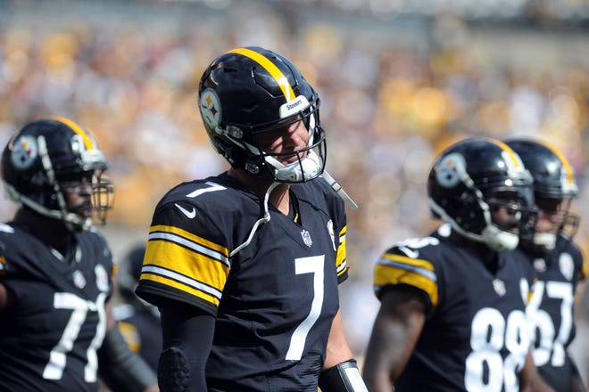 Ben Roethlisberger and the Pittsburgh Steelers have a big game against Ryan Fitzpatrick and the Tampa Bay Buccaneers on Monday night.