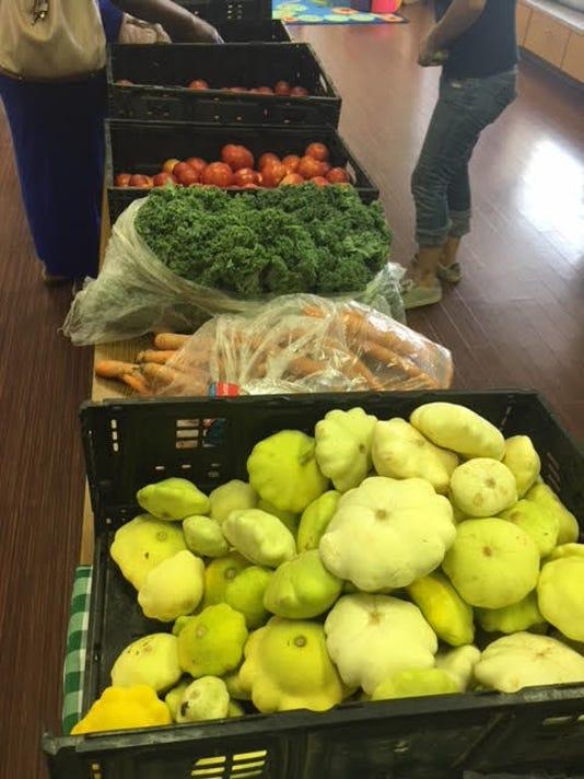Care1st Farmers Market produce