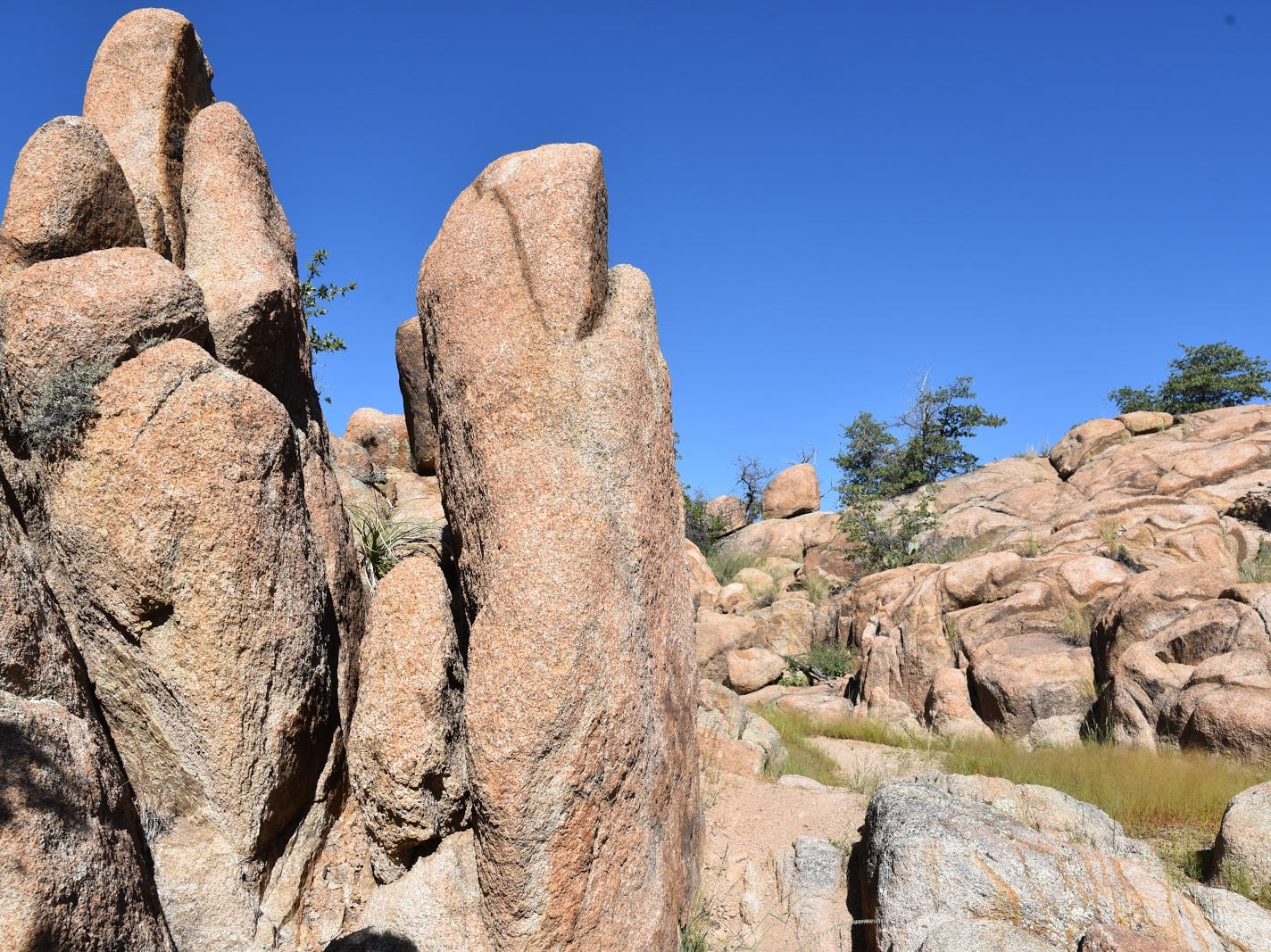 The Storm Trails explore Prescott's Granite Dells area.