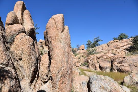 The Storm Trails explore Prescott's Granite Dells area.