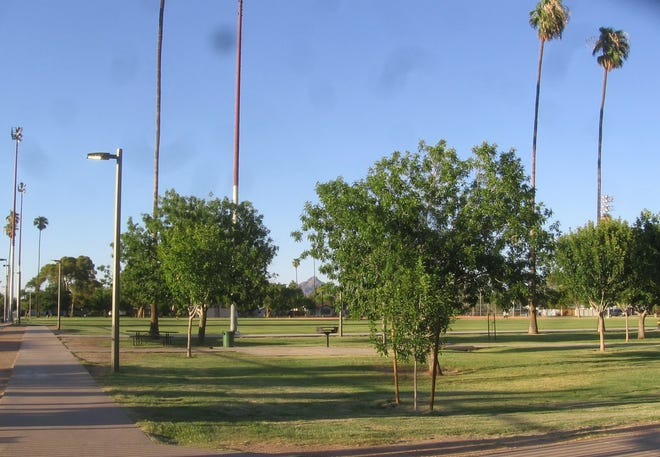 James Realty sold a portion of its land in the Ranchitos Bonitos subdivision to the City of Phoenix for $12,000 in 1935.