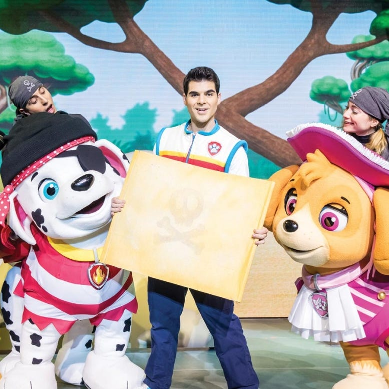 PAW Patrol Live! will bring 'The Great Pirate Adventure' to Phoenix for four performances
