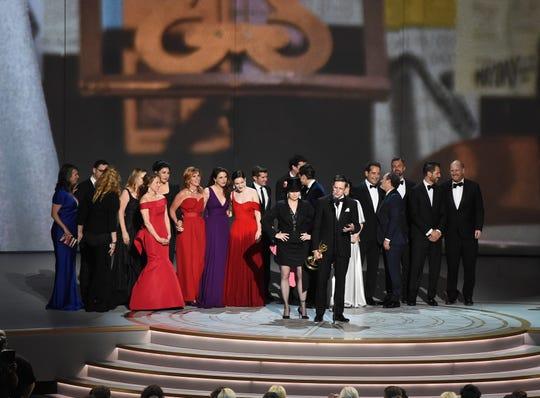 The Marvelous Mrs. Maisel se llevó el premio a Mejor Serie de Comedia en los Emmys el 17 de septiembre de 2018.