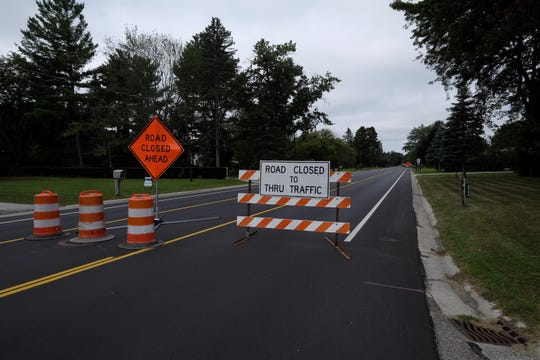 North River Road is closed because of a water main break.