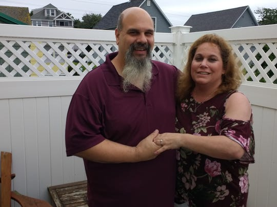Jason Gordon and Rosemarie Noto met in seventh grade and remained friends throughout high school, but life took them on separate paths, until they reconnected on Facebook and are now engaged.