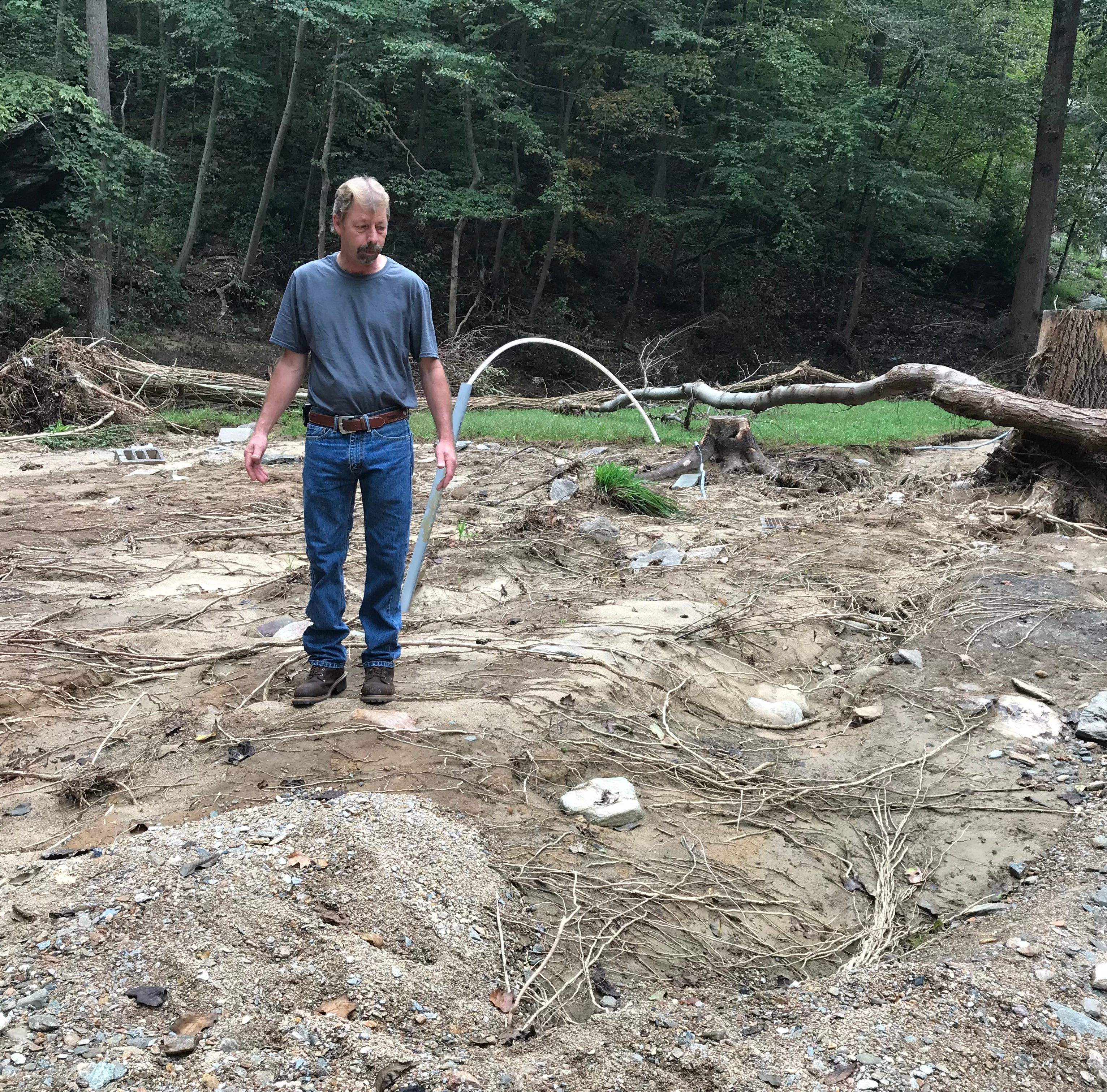 'This was my house': Weeks later, York County flood victims cope with losing everything