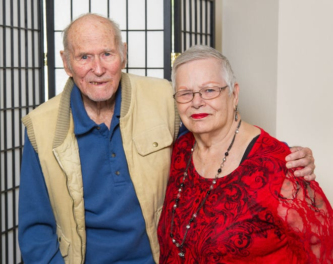 "Patsy and Edward ""Don"" Bertlow have been married 54 years."