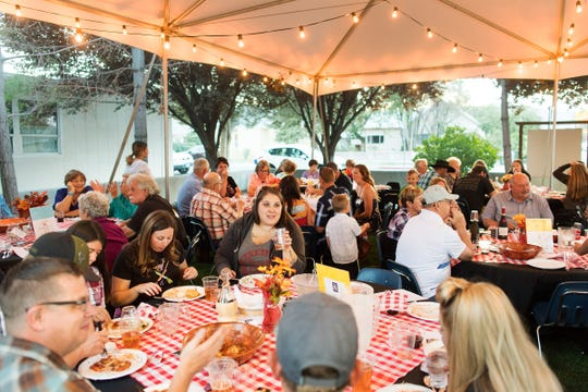 A large crowd attended the 10th annual Taste of the Valley event at the Jeanne Dini Center.