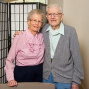 Rose and Al Raxter have been married 66 years.