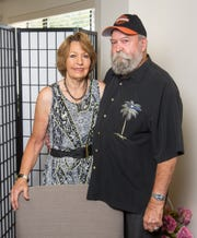 Kirk and Eloise Yeager have been married 55 years.