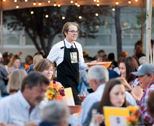 Ravoli was the main course served at the 10th annual Taste of the Valley event.