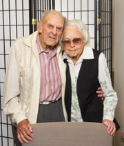 Dorothy and Babe Rodgers have been married 51 years.
