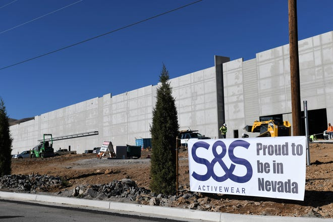 S&S Activewear has signed a lease on an 800,000 square foot facility in the North Valleys Commerce Center, a project that will create 350 jobs in the Reno area.
