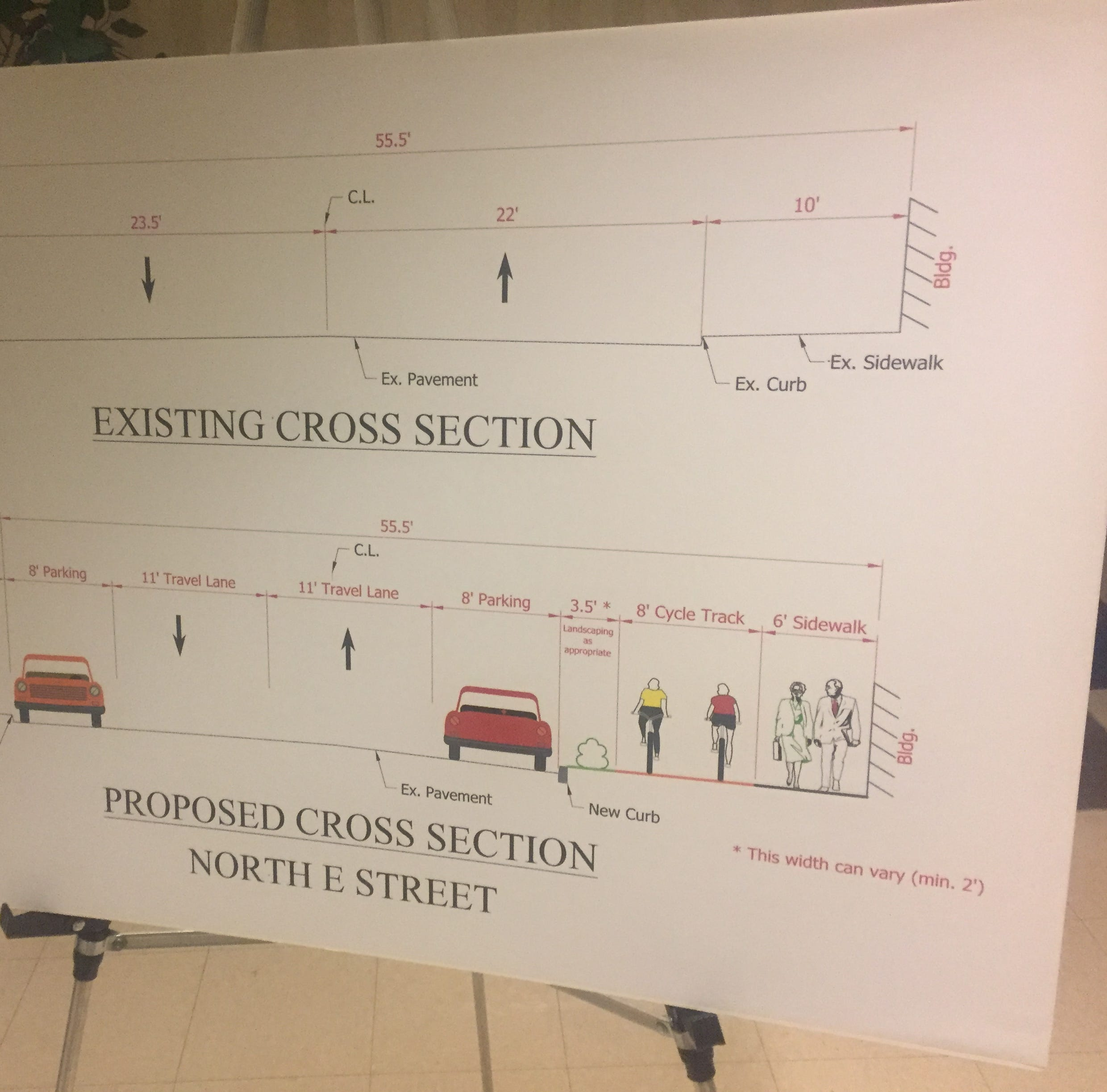 Crisis averted: Bike path and parking can co-exist so ordinance dies