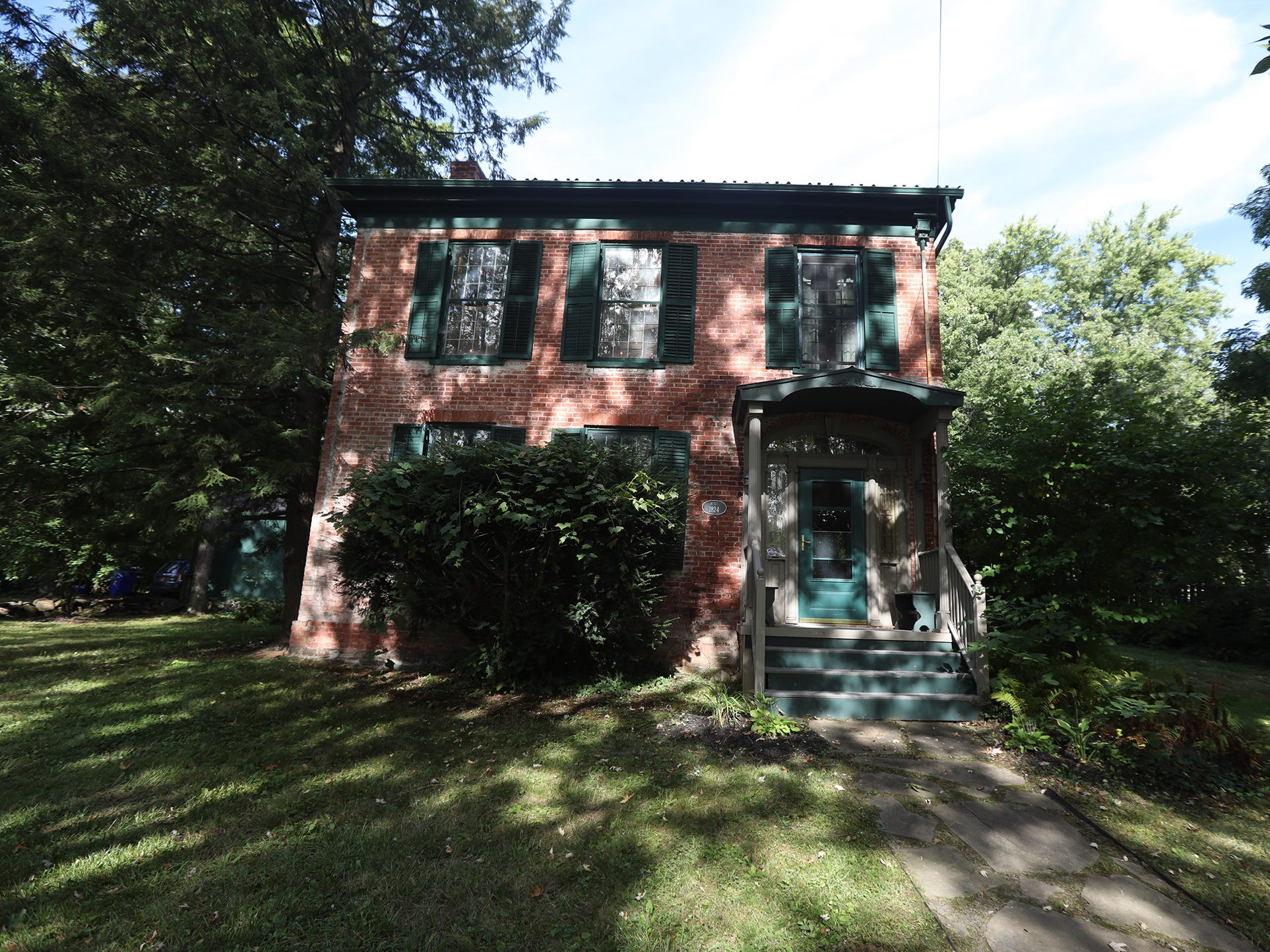 The house was built in 1824.