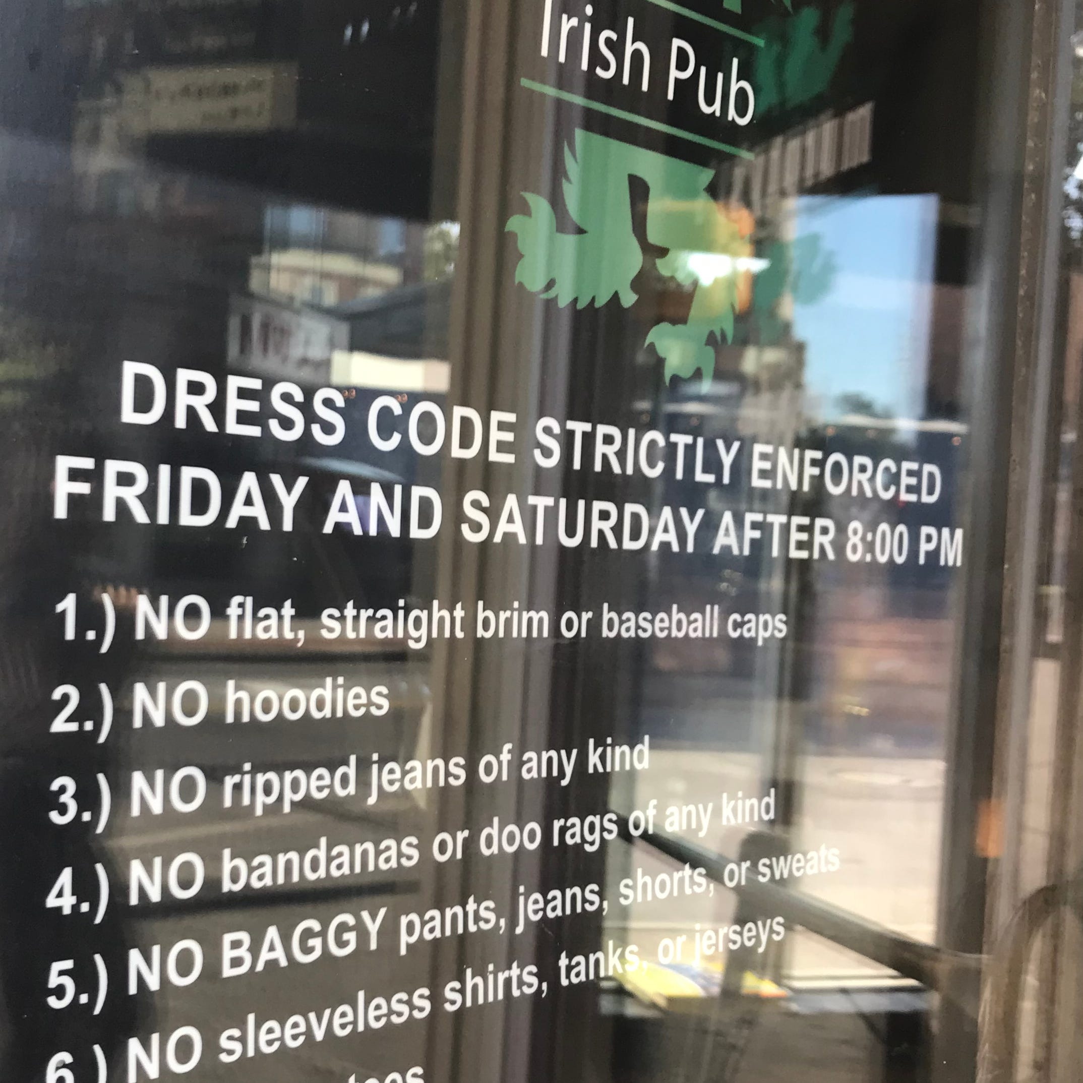 Facebook post ignites a debate on dress code at East End bars