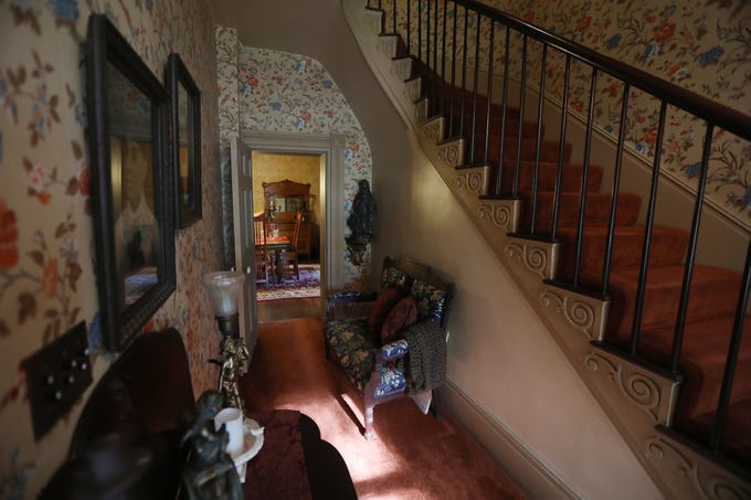 The 2,970 square-foot Simeon B. Jewett historic home sits on one acre.