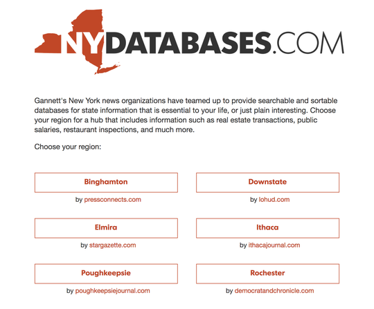 Visit NYDATABASES.COM for the latest government salaries and pensions