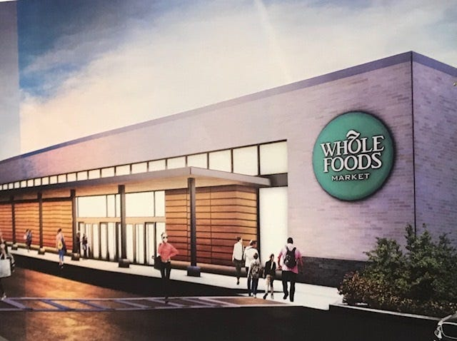 A rendering of what the Whole Foods store on Monroe Avenue in Brighton could look like.