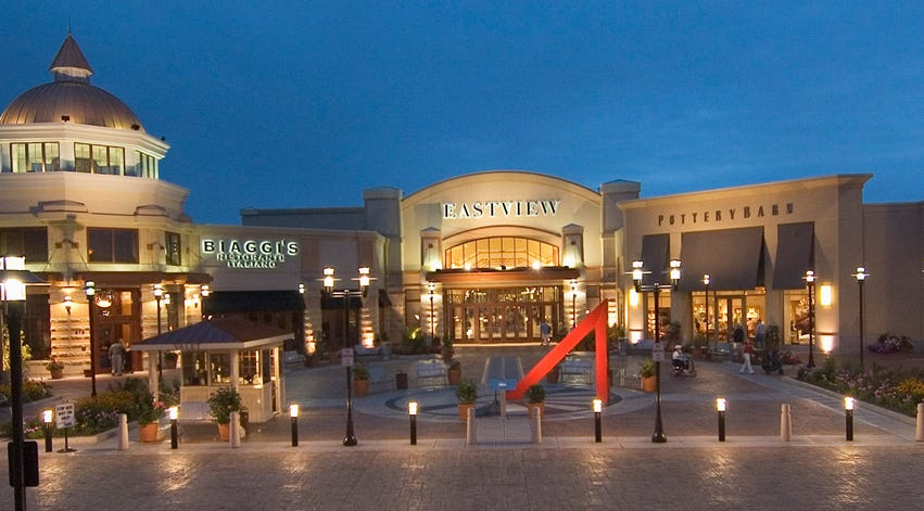 Eastview Mall Closes Early Due To Power Outages In Victor Ny