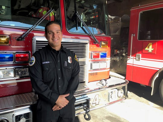Salem Fire Department fireman and paramedic Luis Matheus says he sometimes uses his ability to speak Spanish daily.