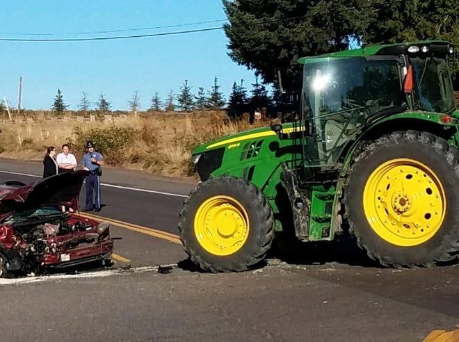 One person is dead following a crash in Yamhill County on Highway 99W.