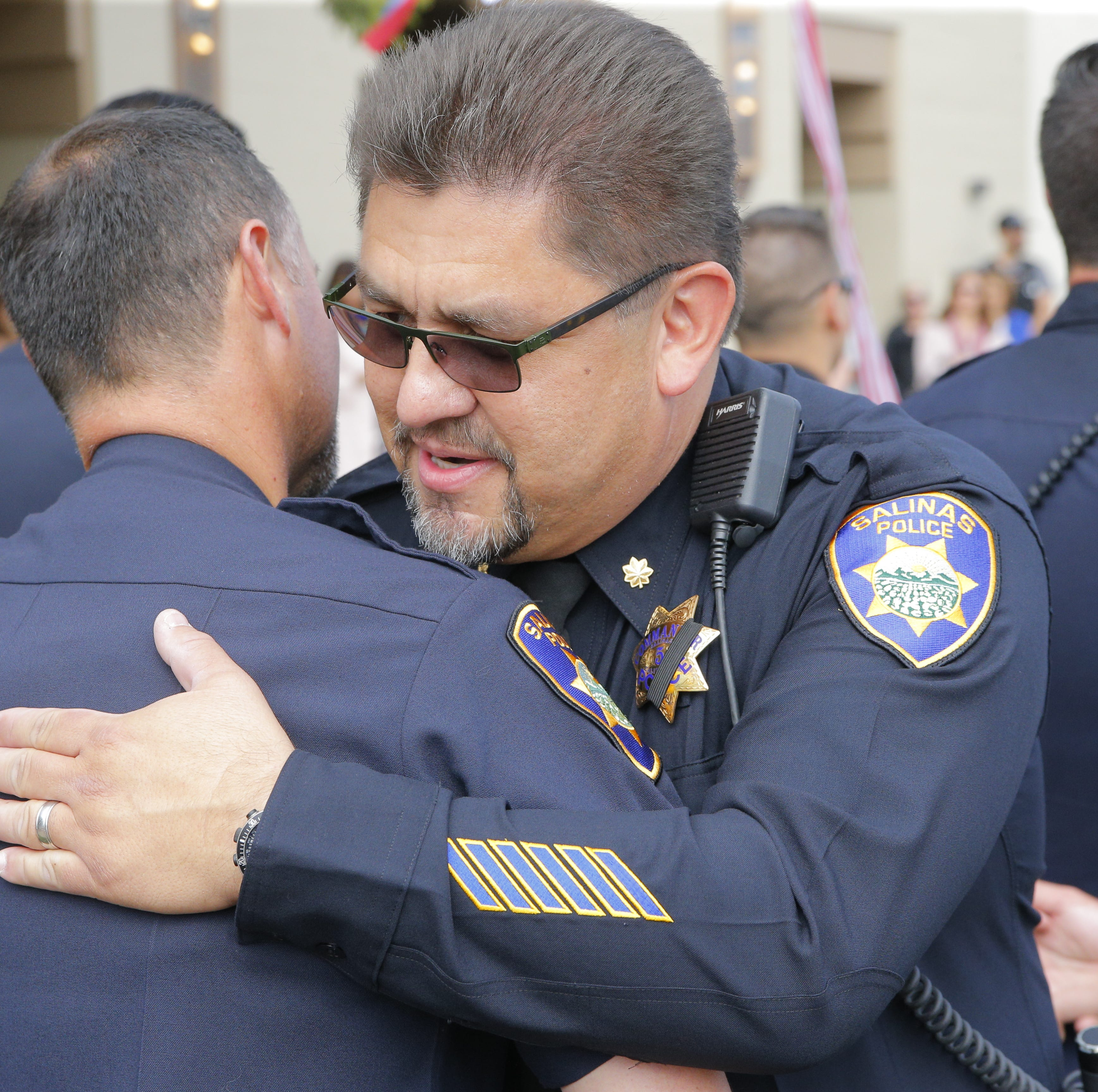 Salinas honors retiring police commander