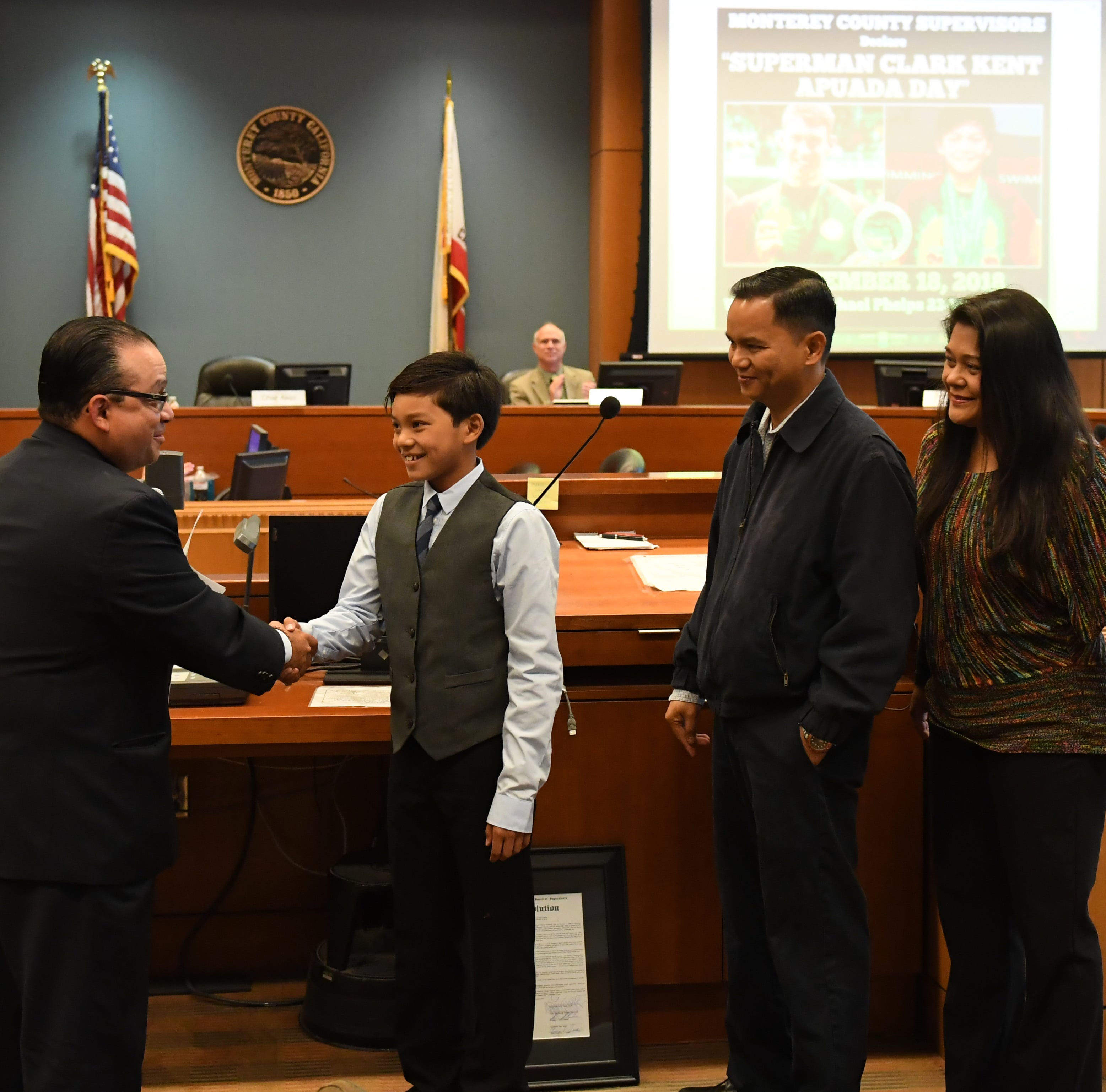 Why Tuesday became 'Superman Clark Kent Apuada Day' in Monterey County
