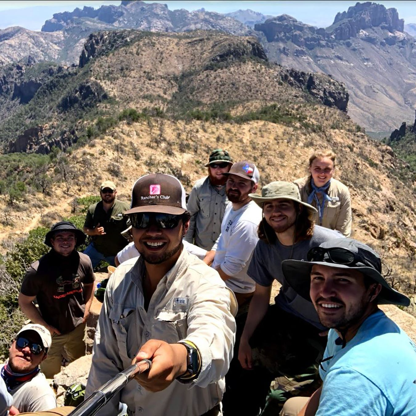 Field Camp the experience of a lifetime for Angelo State University geology students