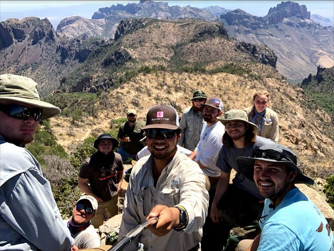 Angelo State University geology students learned, worked hard and lived remotely during the summer's Field Camp.