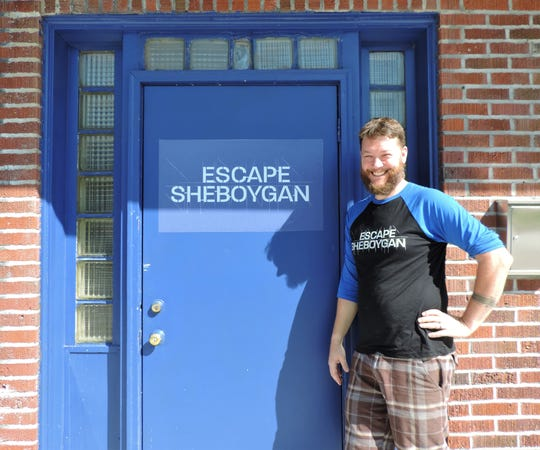 Jeremiah Reynolds of Sheboygan has opened Sheboygan's first escape room, called Escape Sheboygan. The new business hopes to attract people who want a new activity to do with friends in Sheboygan.