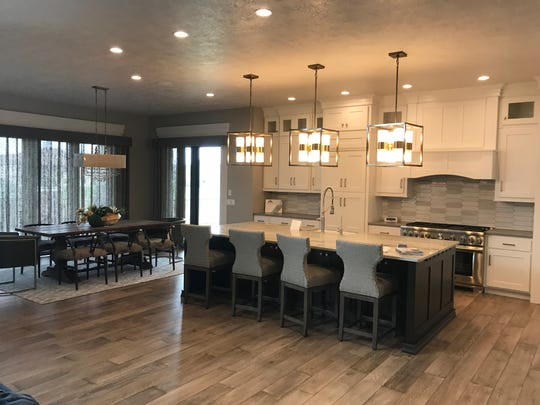 The 2018 Fall Parade of Homes featured home, No. 43, at 8301 S. Quiet Oak Trail in Sioux Falls.