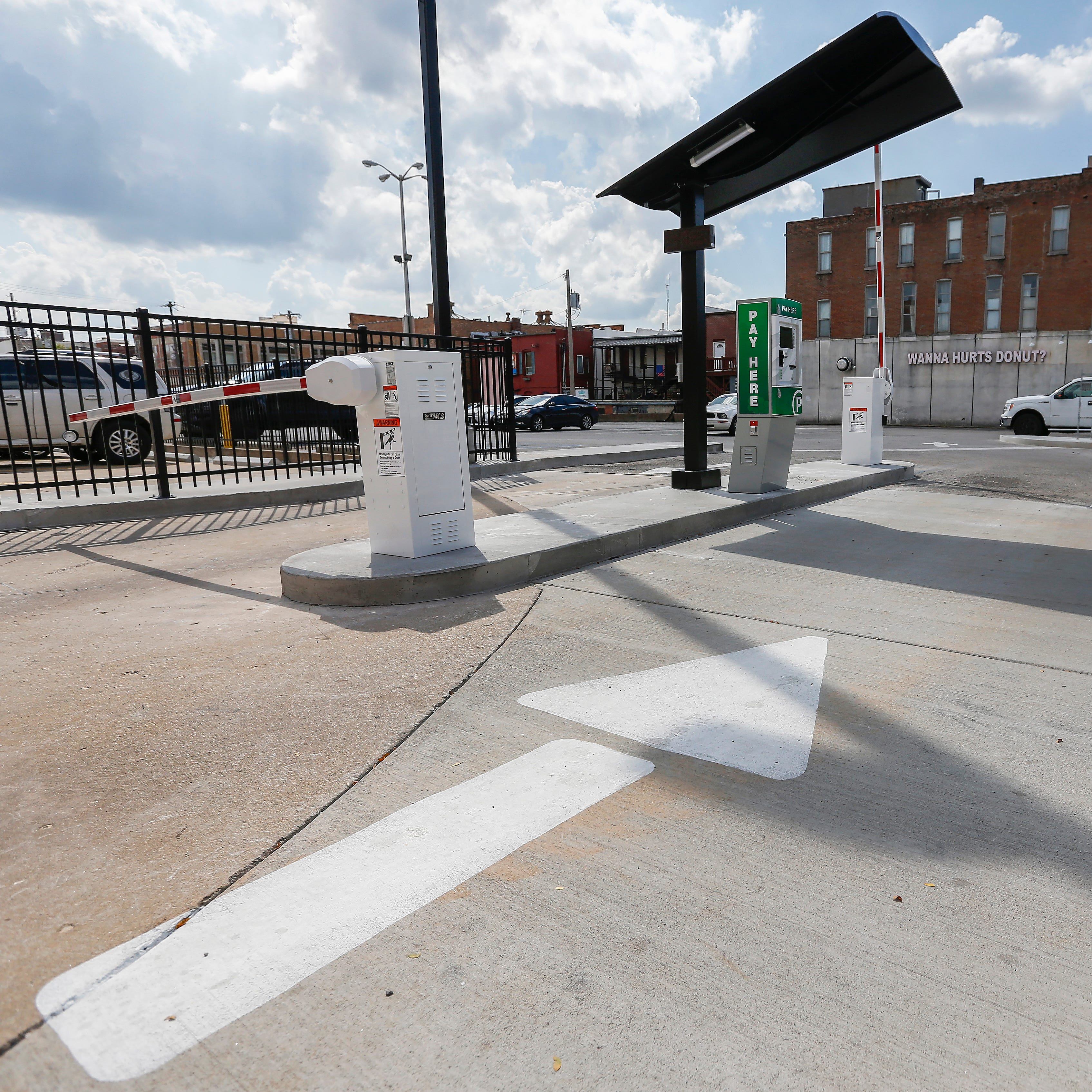 Pay gates are coming to a once-public downtown Springfield parking lot