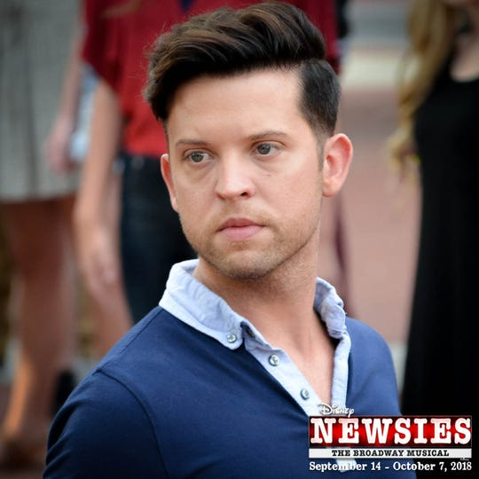 """The leader of the Newsies, Jack Kelly, is played by Springfield native James Brandon Martin, who is no stranger to the Landers stage. Martin was most recently seen in """"How to Succeed in Business Without Really Trying"""" and as Sky in """"Mamma Mia."""""""