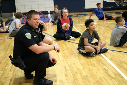 Springfield school police officer Jason Becker was recently hired by the district. He works at Carver Middle School.