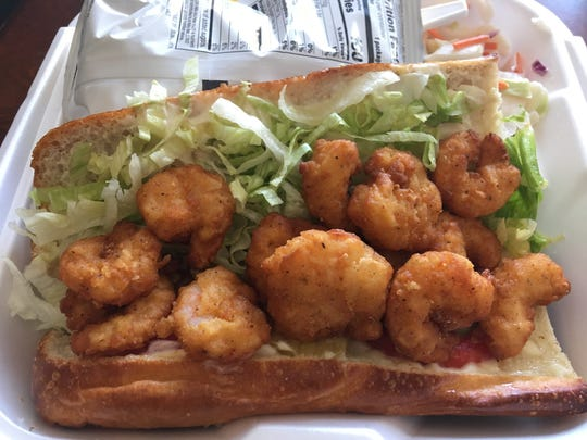 The Shrimp Po'boy ($9) is the best I've had outside of Louisiana. I would highly recommend it and cannot wait to get my hands on another. The bread is crusty, chewy and delectable. The shrimp were cooked perfectly.