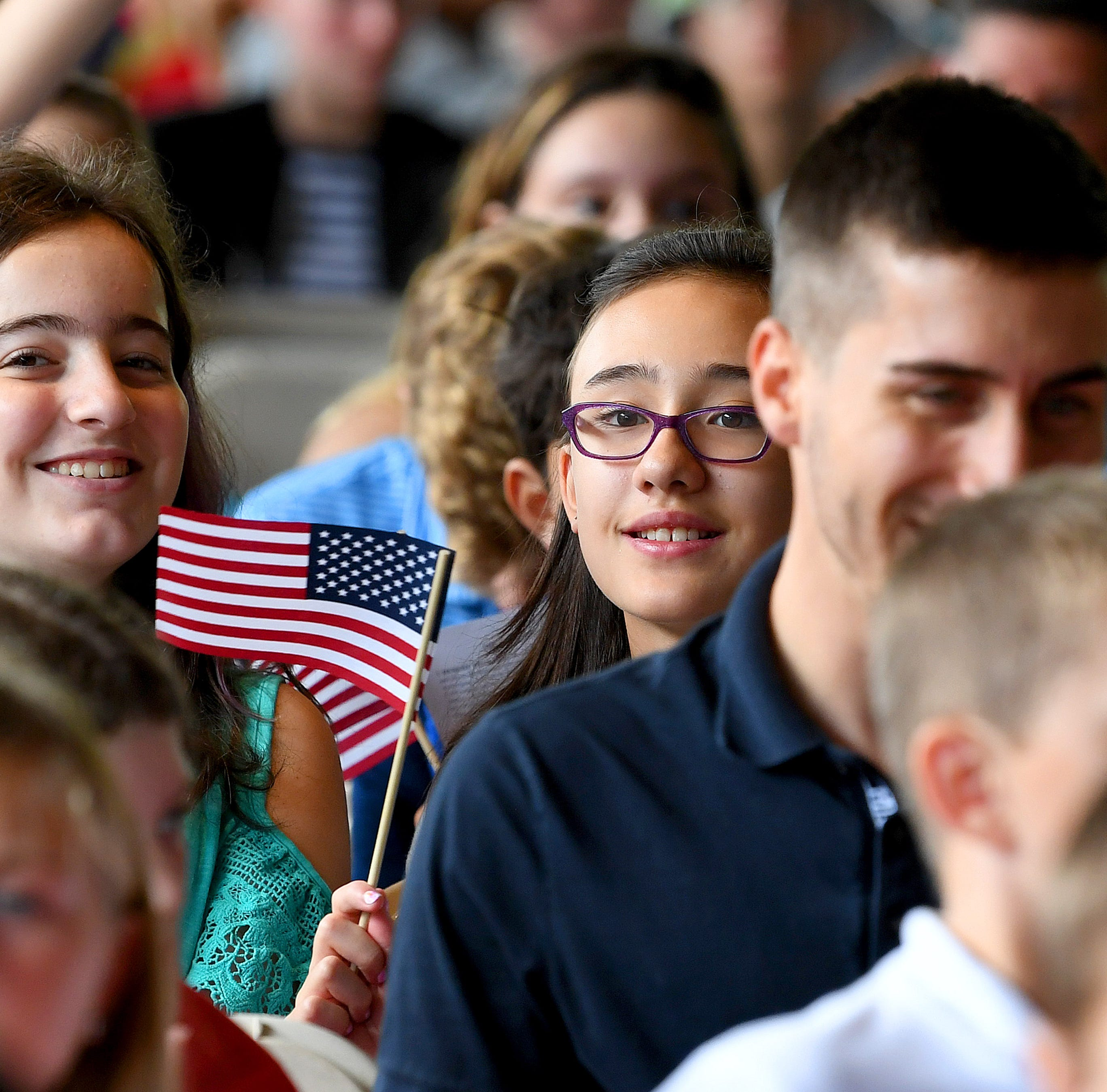 Naturalization Ceremony at Frontier Culture Museum
