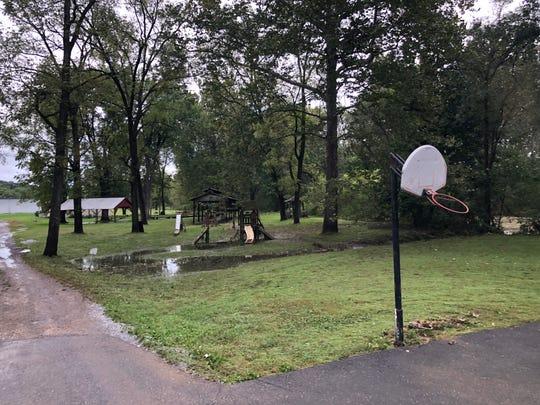 Near the Churchville Community Park on Tuesday, Sept. 18, 2018.
