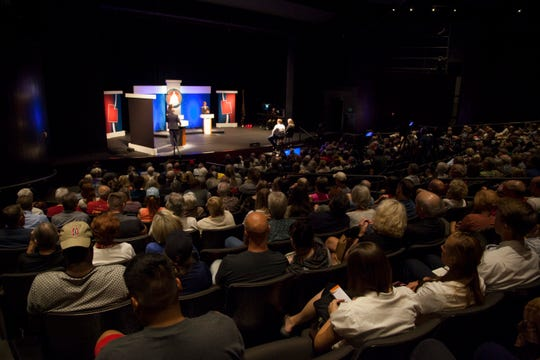 The St. George debate on Sept. 17, 2018, was the only debate that will be held for the candidates running in Utah's 2nd Congressional District race.