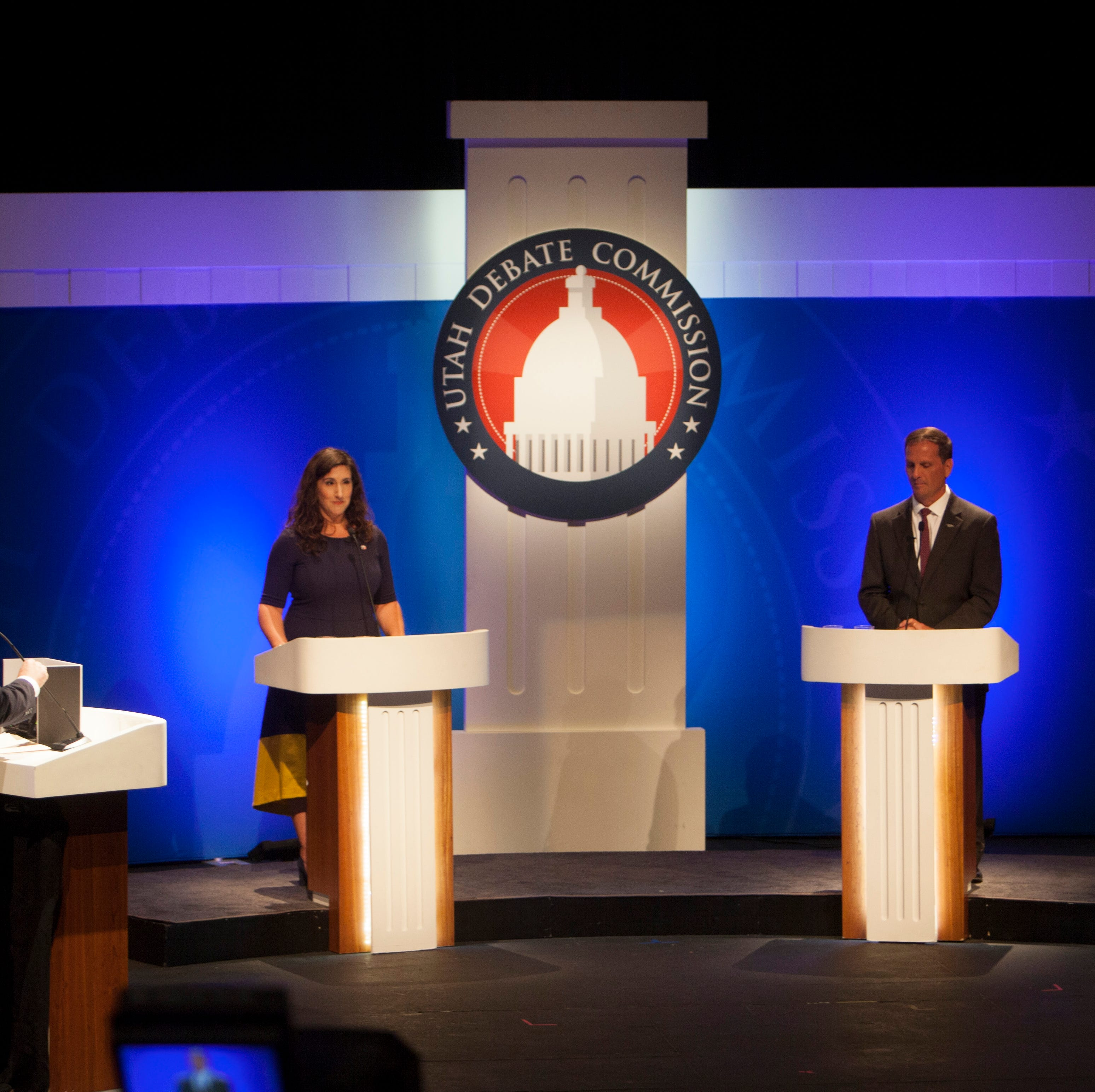 Stewart, Ghorbani debate in Utah's 2nd Congressional District race