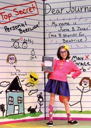"Emily Weller stars in ""Junie B. Jones, The  Musical"" this weekend at Young Actors Theatre."