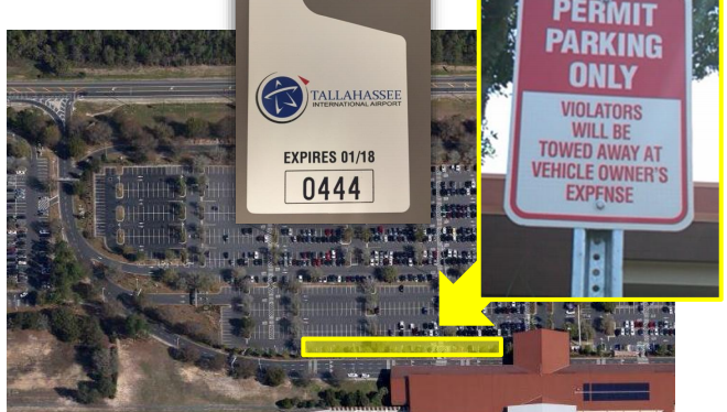 Memo to City Attorney: Personal use of airport parking pass a no-no for VIPs