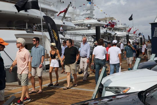 The 59th annual Fort Lauderdale International Boat Show is Oct. 31-Nov. 4. It's on of the the largest boat shows in the world.