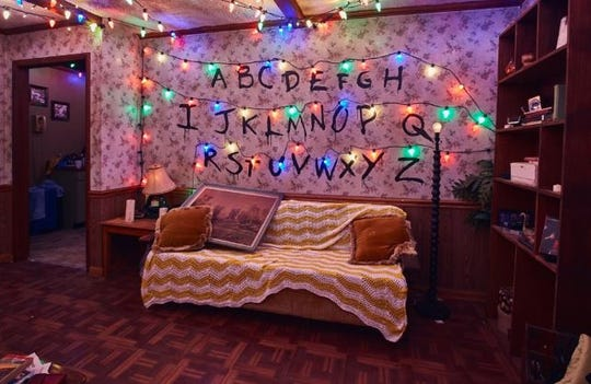"""Of the 15 haunted houses and scare zones at Halloween Horror Nights at Universal Orlando, six of them are themed after 1980s horror movies or are a direct tribute to them, like """"Stranger Things."""""""