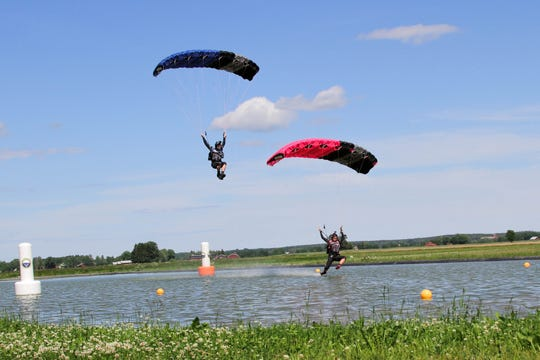 Florida-based competitors and husband-and-wife rivals Curt and Jeannie Bartholomew are among the nation's best parachutists who will be at the U.S. Parachute Association's National Parachuting Championships Sept. 19-28, 2018, at Skydive Sebastian.