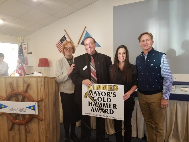 The award recognizes the efforts of residents and business owners in the Fort Pierce community that have significantly improved their homes or businesses through new construction or rehabilitation efforts. Touchstar Cinemas   is one of last year's winners.