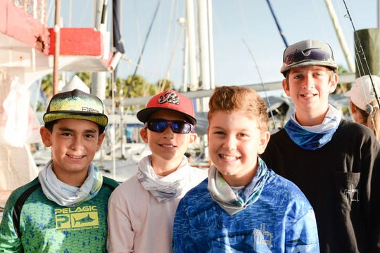 The Children Services Council of St. Lucie County sponsored morning and afternoon fishing trips Sept. 1 aboard the Fort Pierce Lady for Boys & Girls Clubs members as part of the Fishing for Futures tournament.