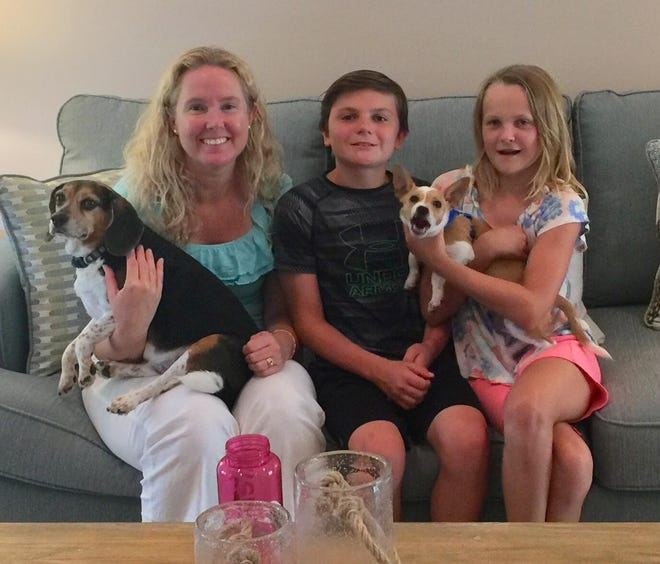The Decowski family of Palm City welcomes Toby.